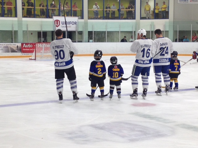 Charity Hockey Goderich July 24, 2015