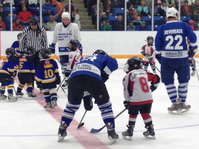 Charity Hockey Goderich, July 2015