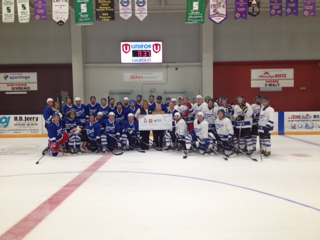 Charity Hockey Game Goderich July 2015