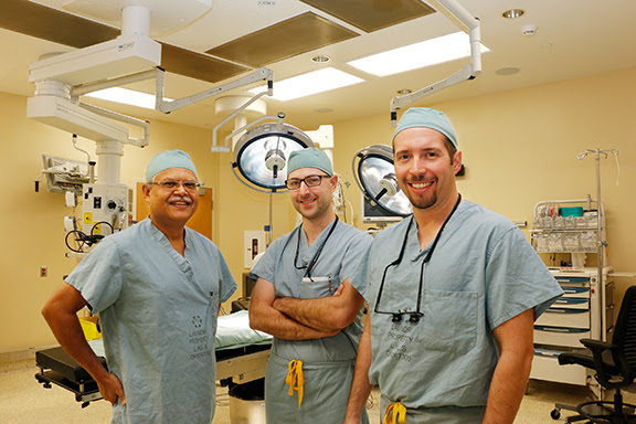 (Left to right) Drs. Singh, Martin and Ramirez are working together to support Urology Services at Chatham-Kent Health Alliance. (Photo courtesy of the Chatham-Kent Health Alliance)
