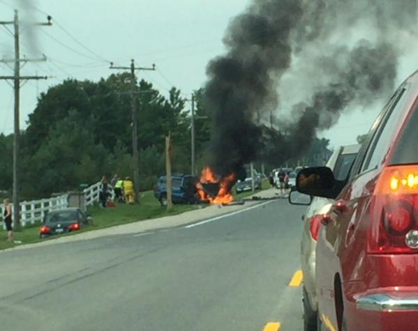 Fiery Crash Leads to Charge Against Owen Sound Driver