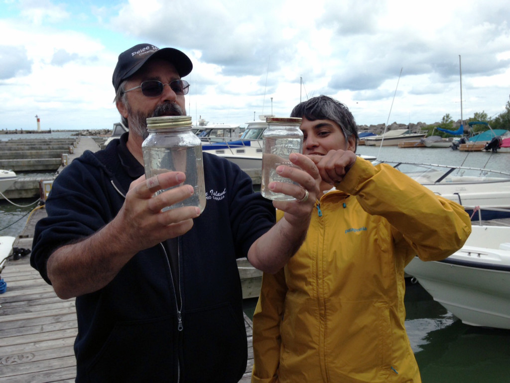 Pelee Water Sample Aug. 25, 2015