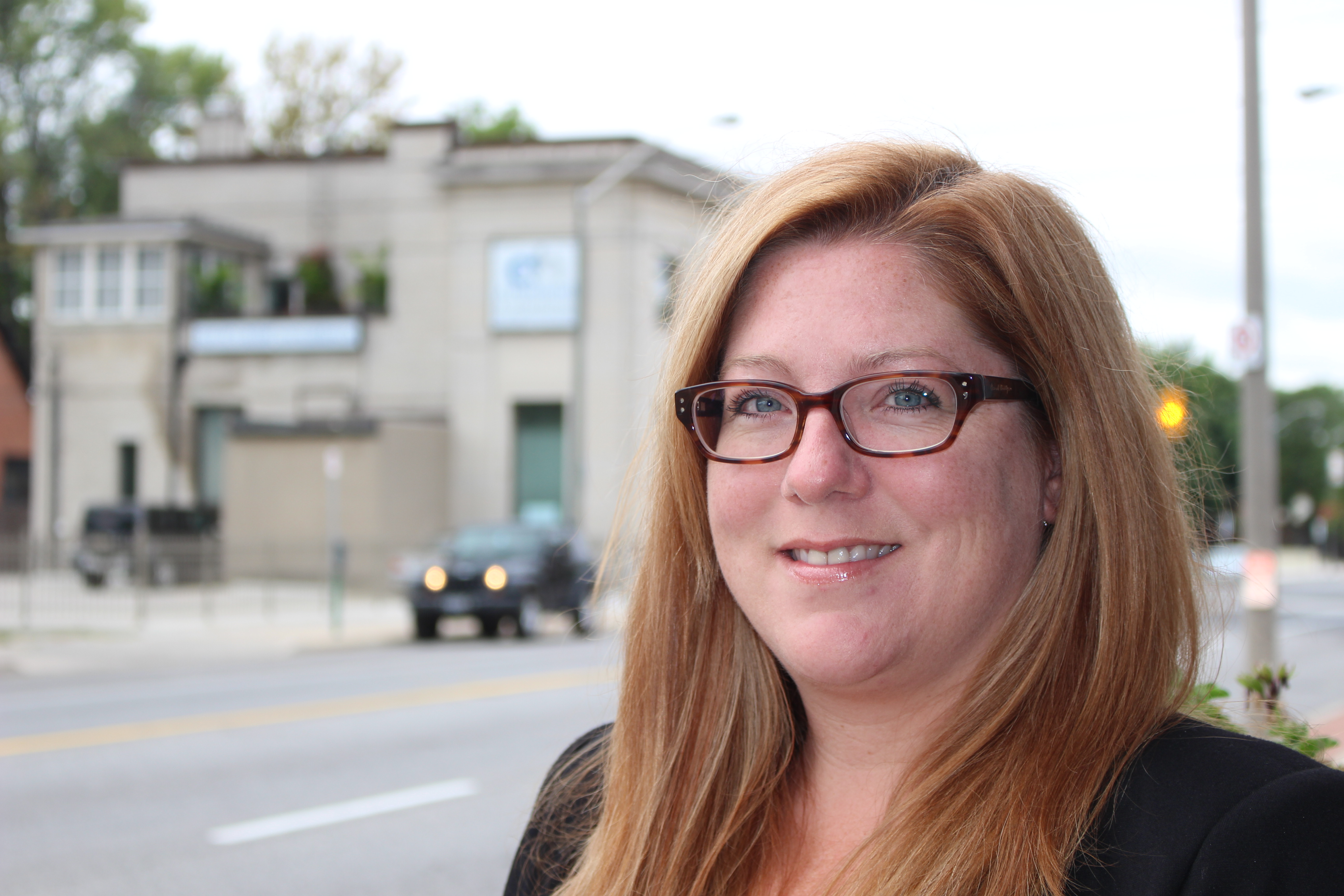 NDP candidate in the riding of Essex, Tracey Ramsey August 25, 2015. (Photo by Adelle Loiselle)