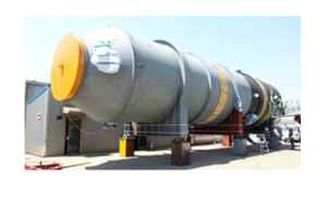 Waste Heat Exchanger  to arrive in Sarnia at the Government Docks on August 19, 2015. (Submitted Photo)