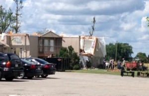 Home Damaged by Teviotdale Tornado (Photo by Steve Sabourin)
