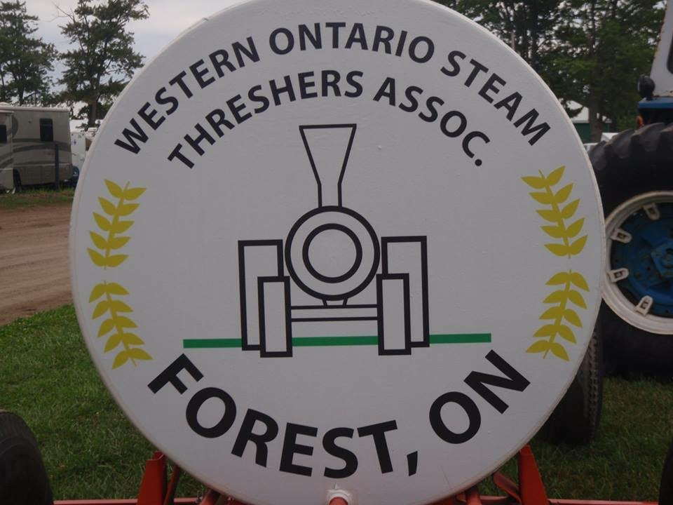 Steam Thresher Sign. Photo submitted by Karla Moffatt