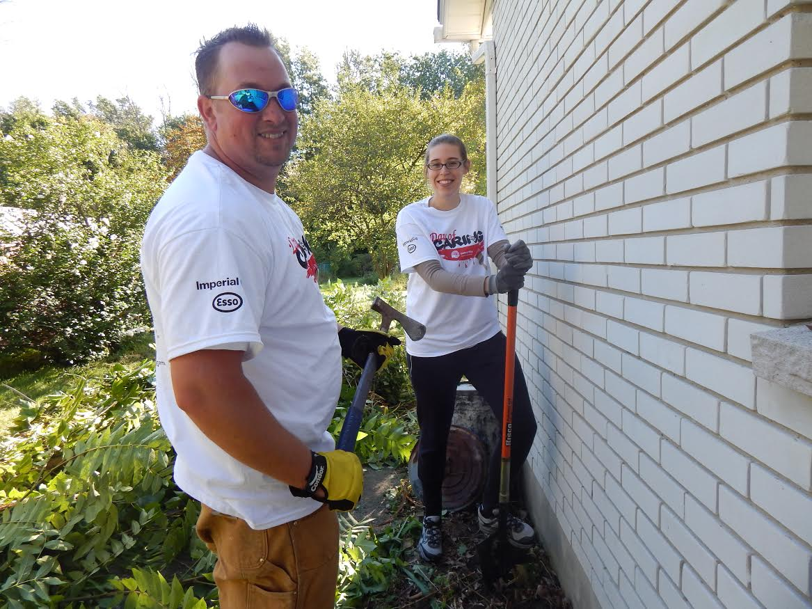 Day of Caring #1 courtesy of the United Way