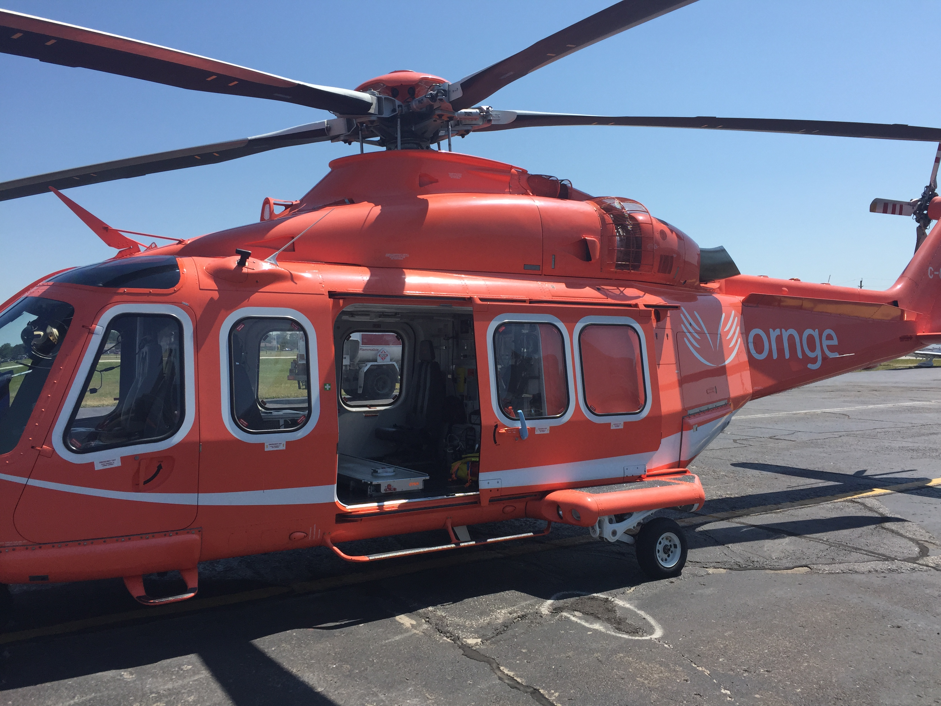 Ornge Air Ambulance (Photo by Mike James)