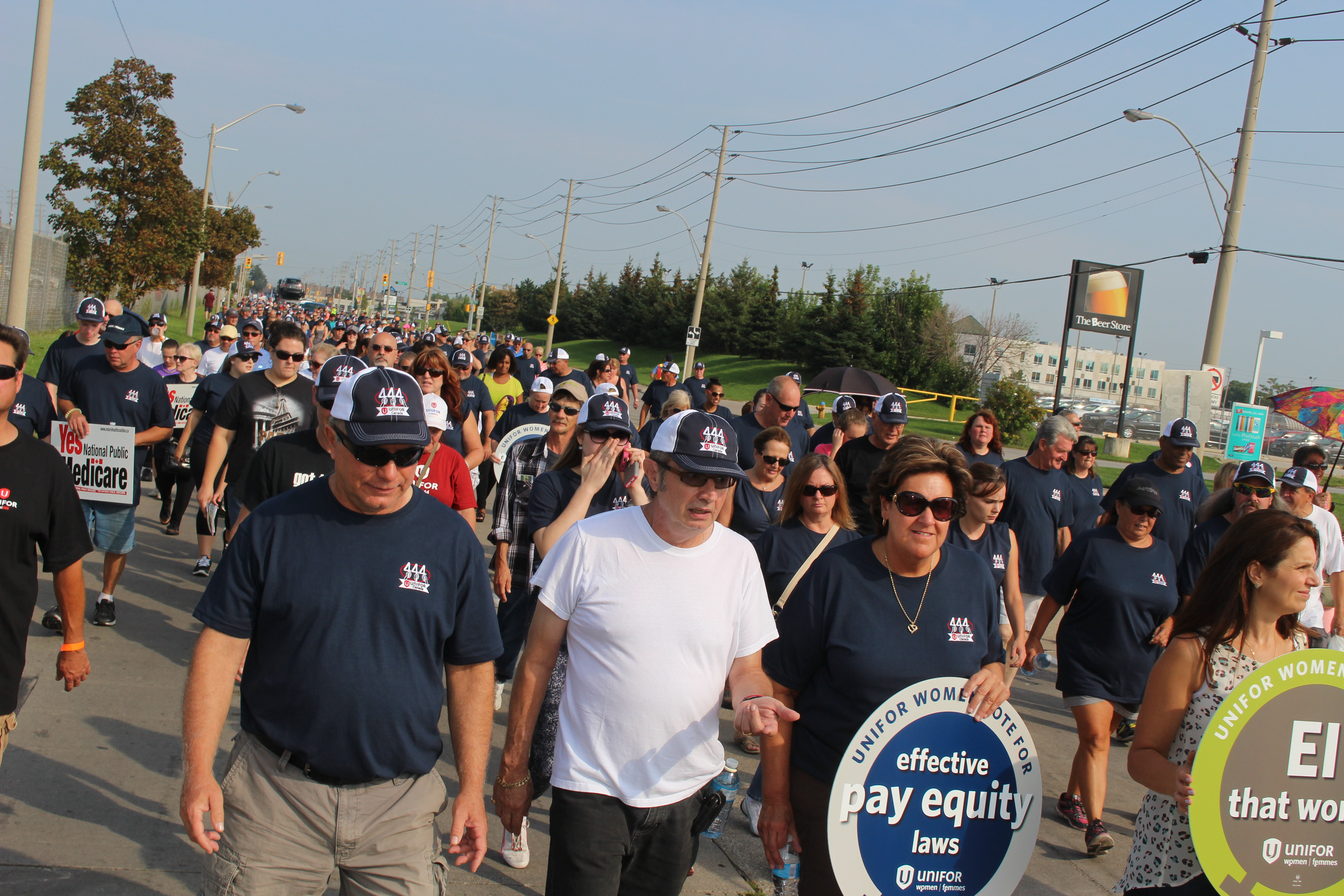 The 2015 Labour Day Parade in Windsor. (Photo by Adelle Loiselle)
