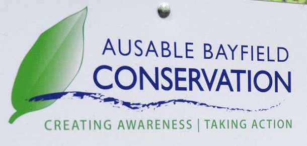 Ausable Bayfield Conservation sign - ABCA