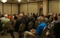 Approximately 100 people attended the candidates debate held at the Lambton Inn Wednesday evening. October 7, 2015 (BlackburnNews.com Photo by Dave Dentinger)