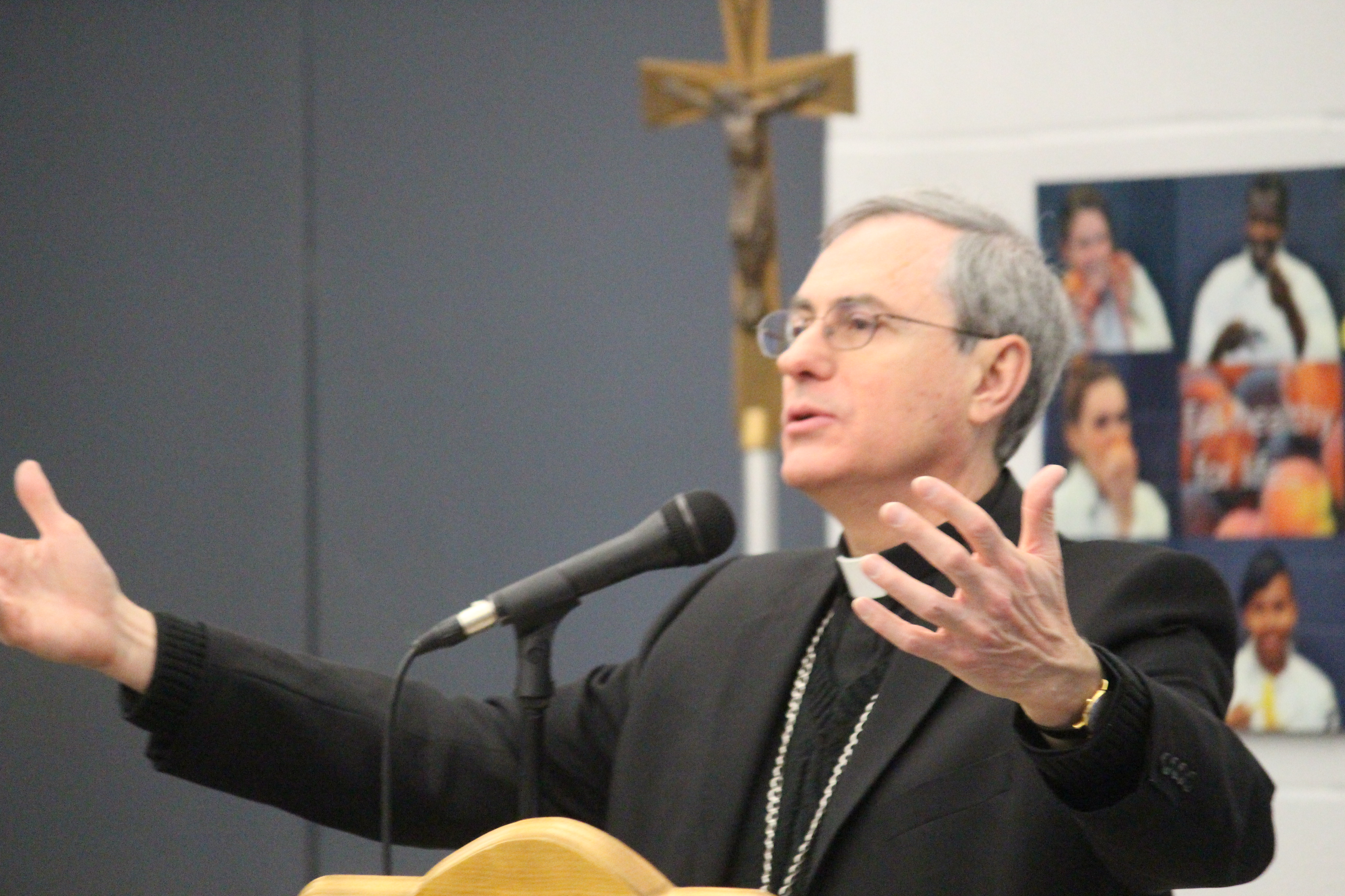 Diocese of London Bishop Ronald Fabbro. (Photo by Adelle Loiselle)