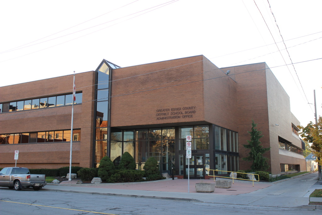 Greater Essex County District School Board Administrative Office. (Photo by Alexandra Latremouille)