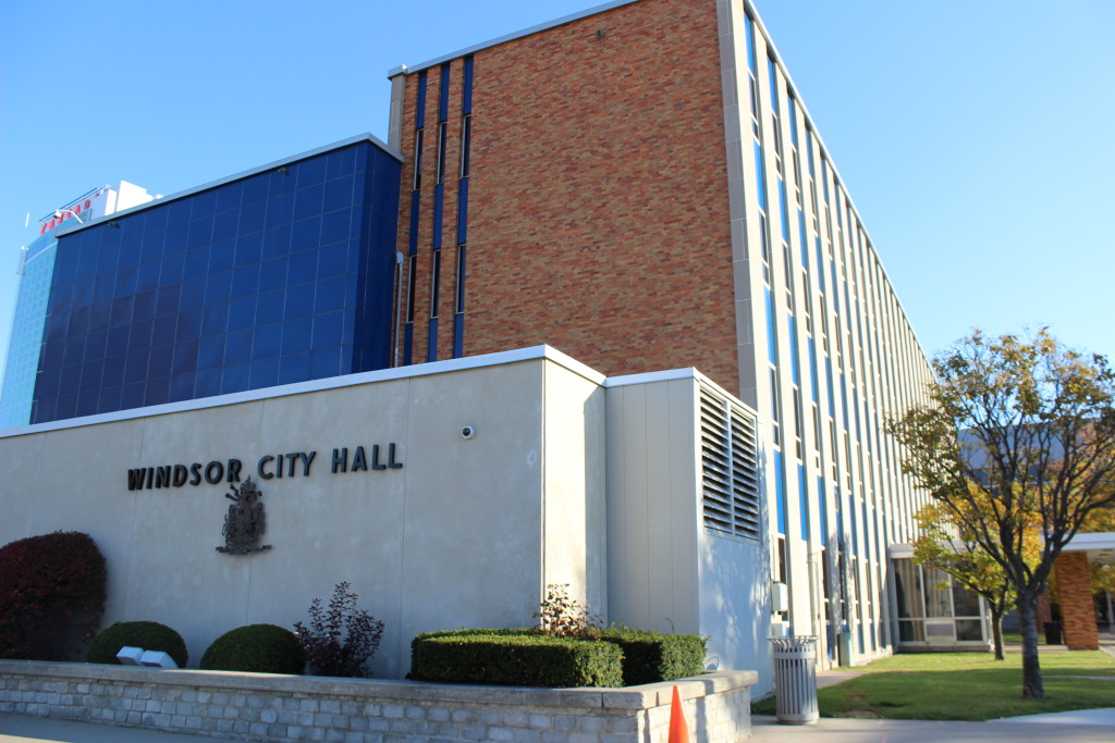 Windsor City Hall. (Photo by Alexandra Latremouille)