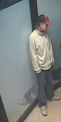 Man suspected in Chatham apartment robbery. (Photo provided by Chatham-Kent Police)