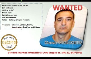 Shawn Desrosiers. Photo submitted by OPP.