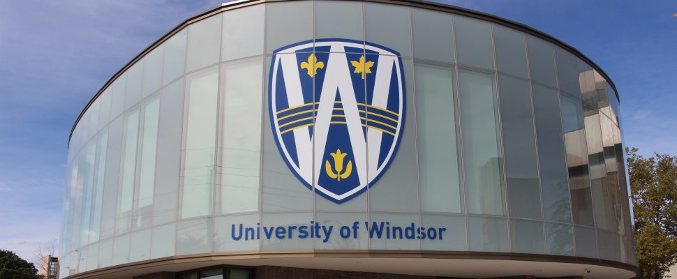 The University of Windsors new Stephen and Vicki Adams Welcome Centre, October 2, 2015. (Photo by Mike Vlasveld)