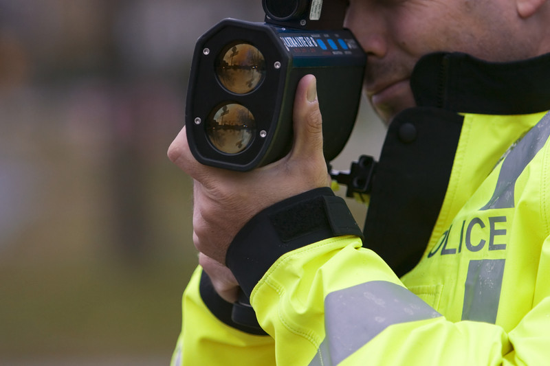 Police radar gun. © Can Stock Photo Inc. / Ottawa_Photo