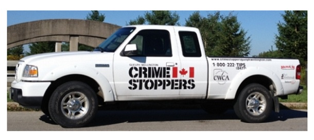 Crime Stoppers Wants Its Decals on Wellington County Municipal Vehicles