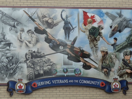 Mount Forest Legion Proposes 'Remembrance Mural'