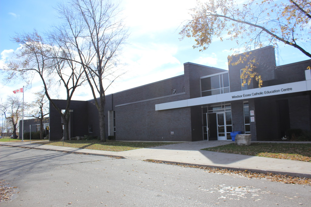 The Windsor Essex Catholic Education Centre. (Photo by Alexandra Latremouille)