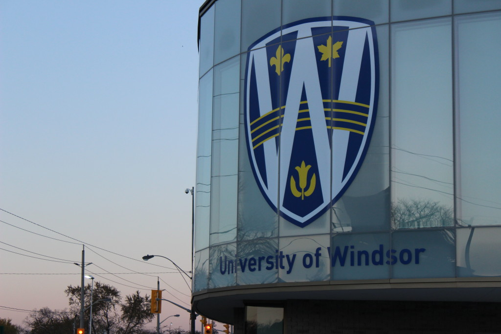 The University of Windsor's Welcome Centre. (Photo by Alexandra Latremouille)
