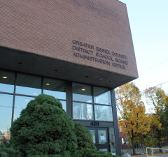 The Greater Essex County District School Board Administrative Office. (Photo by Alexandra Latremouille)