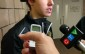 London Knights centre Mitchell Marner speaks with the media outside the visitors' dressing room at the WFCU Centre in Windsor on Nov. 29.  The Knights beat the Windsor Spitfires 5-3.  (PHOTO/Mark Brown)