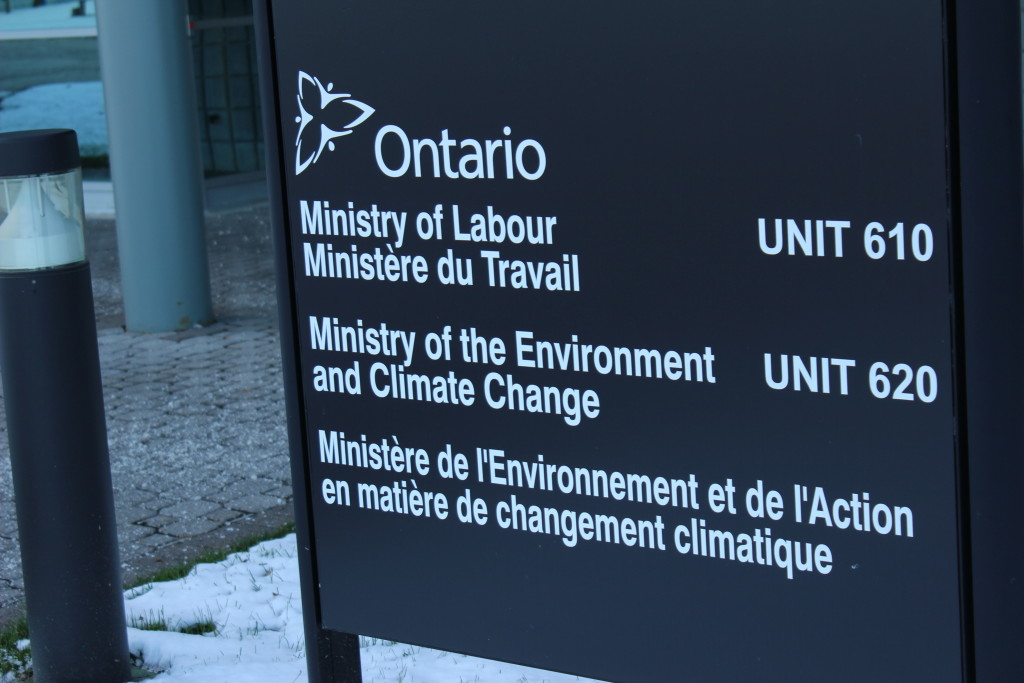 Ontario Ministry of Labour. (Photo by Alexandra Latremouille)