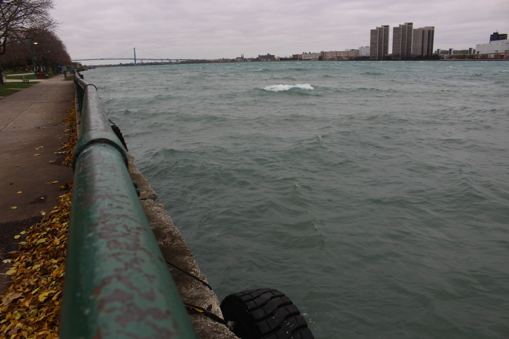 Windy Detroit River 1