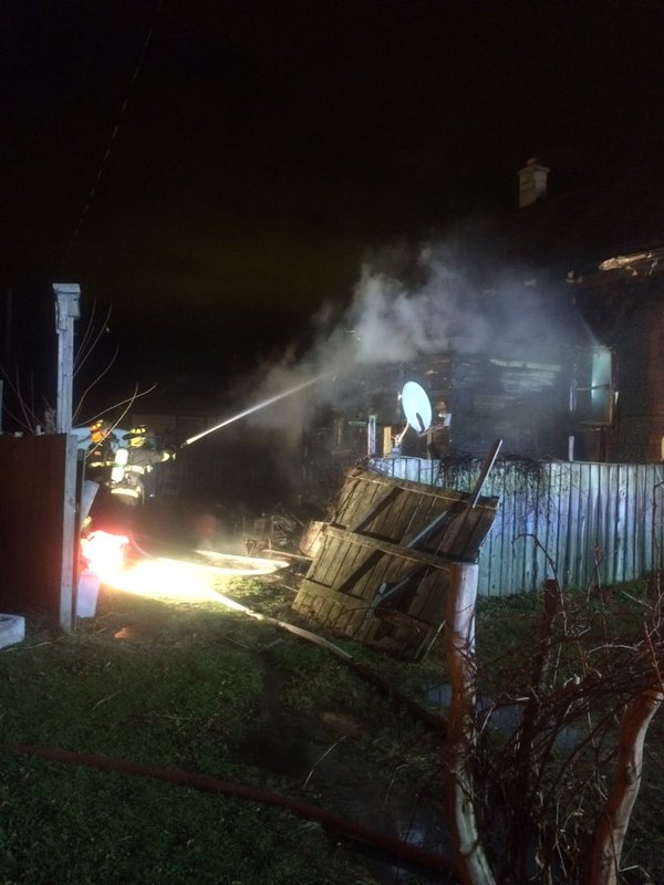 Leamington duplex fire