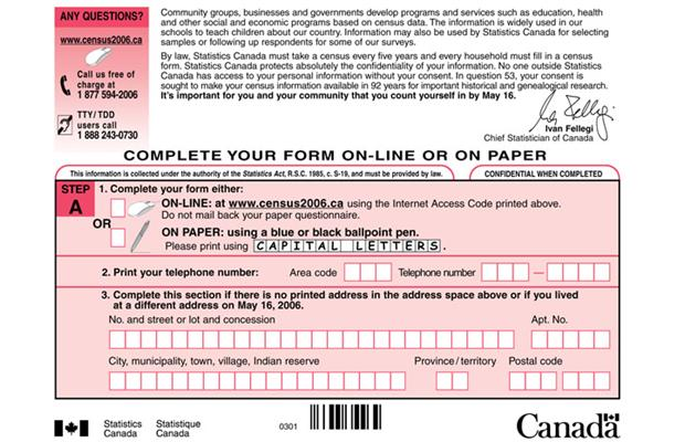 mandatory long form census forms - 620×400