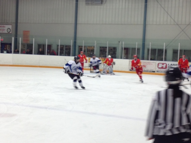 Lightning And China Skate In Wingham
