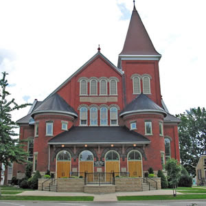 Lakeshore United Church in Goderich