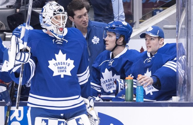 Garret Sparks, Maple Leafs blank Oilers 3-0 class=