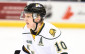 Photo of Christian Dvorak of the London Knights by Aaron Bell/OHL Images