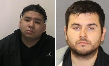 Pictured above Wesley Peters (left), Leonard Peters (right). Photo courtesy of London police