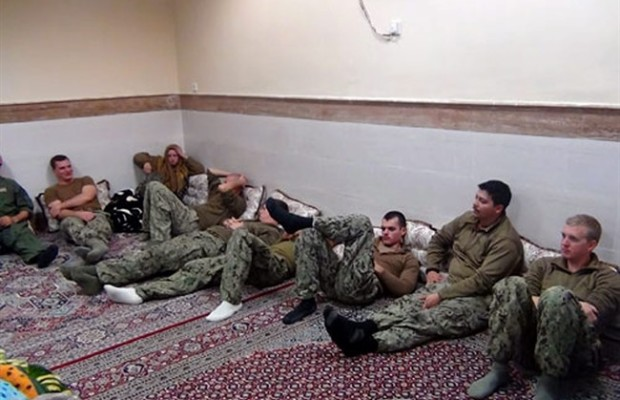 Iranian TV Video Shows Capture of US Sailors