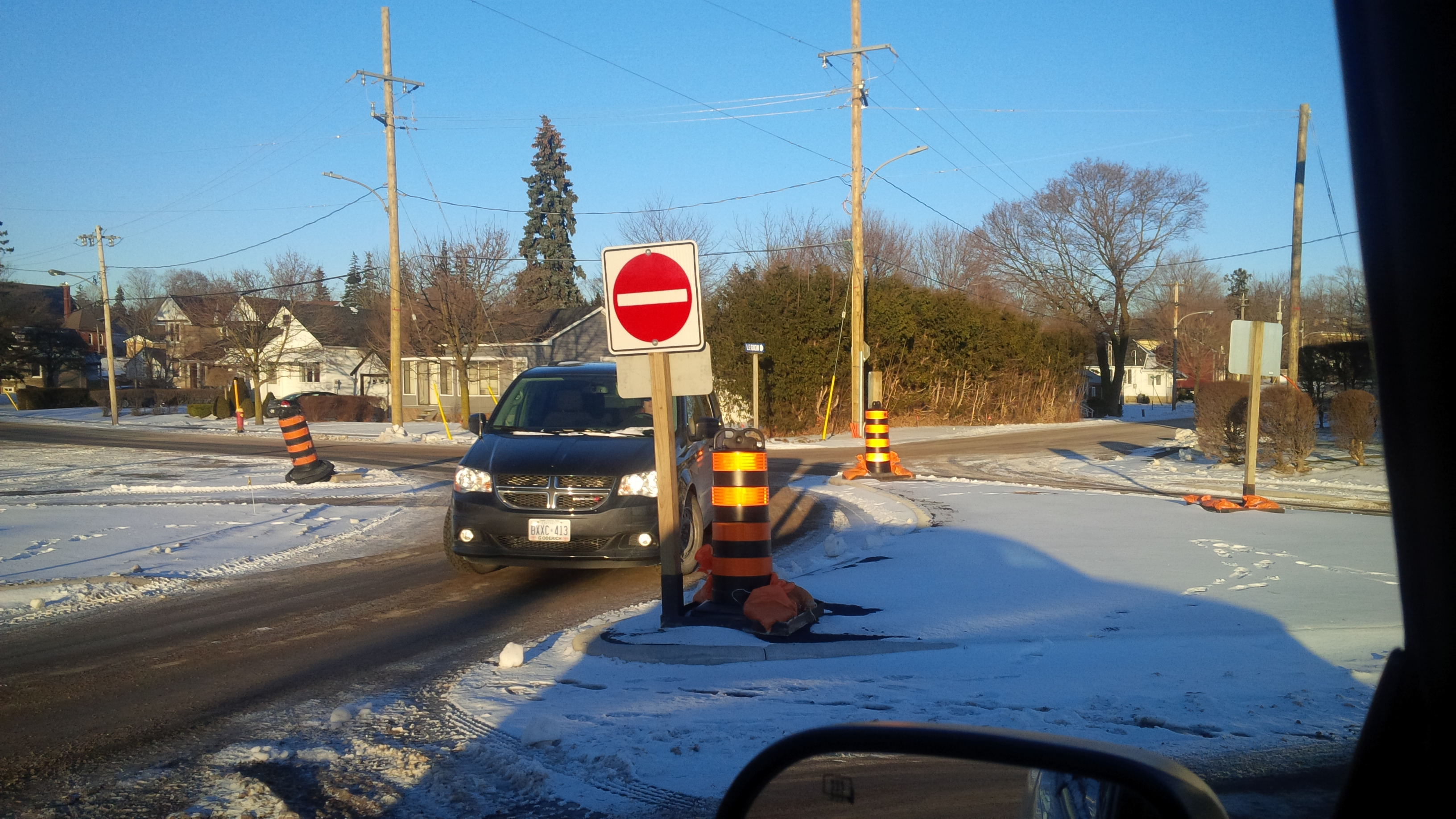 Montgomery County Traffic Cameras >> BlackburnNews.com - Central Huron Residents Not Happy With Intersection's New Layout