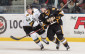 Sarnia forward Travis Konecny tries to get open in the London zone. (Photo by Metcalfe Photography