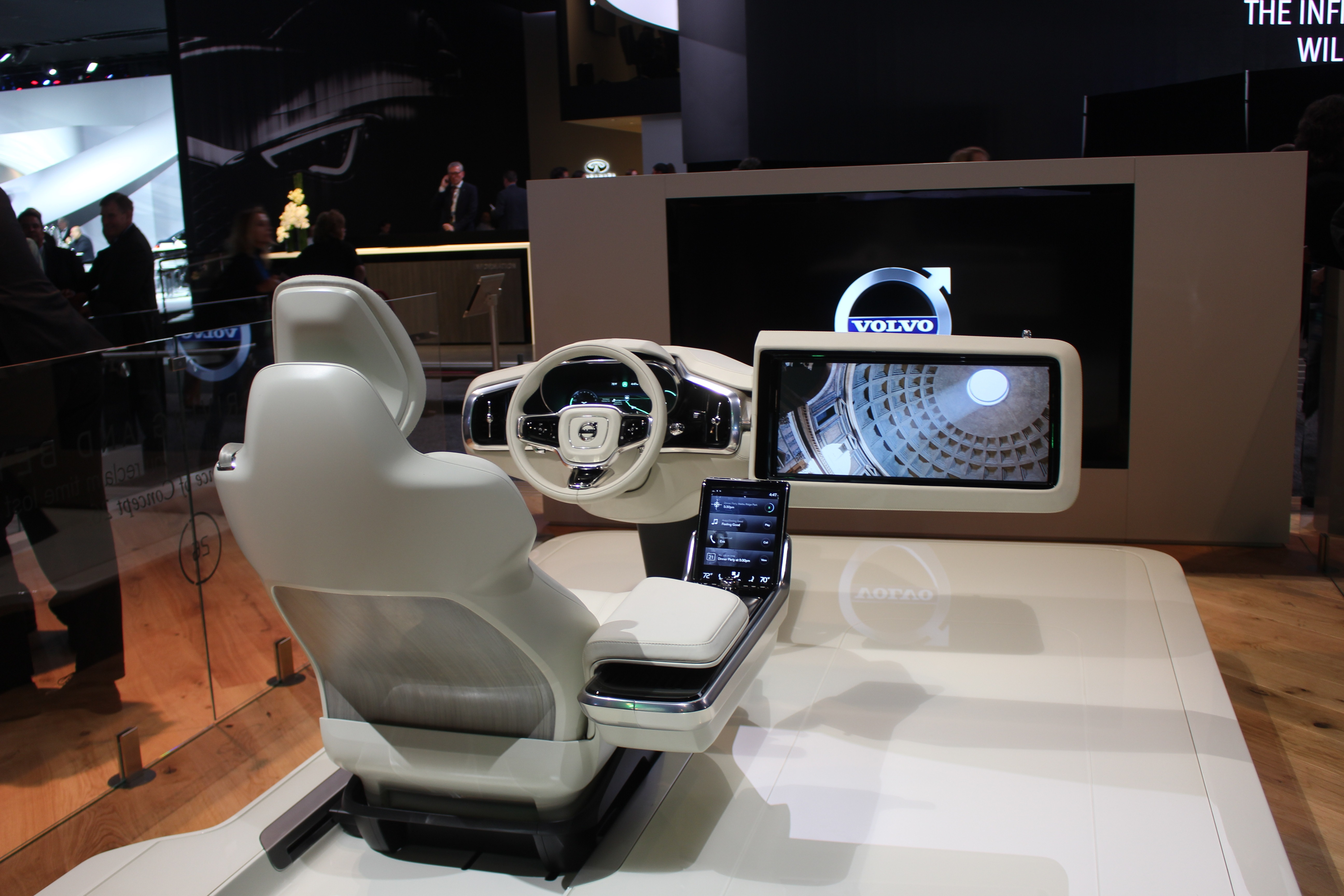 Scene from the North American International Auto Show in Detroit Michigan, January 11 2016. (Photo by Maureen Revait)