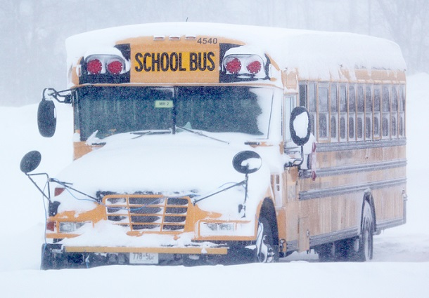 School Buses Cancelled