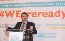 Windsor Regional Hospital CEO David Musyj, January 25, 2016. (Photo by Adelle Loiselle)