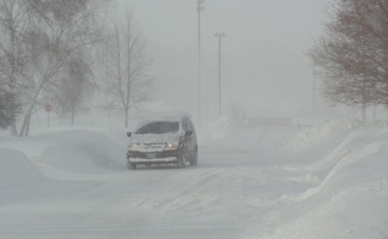 Snow Squall Watch For North And East Lambton