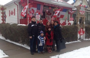 The first Syrian family that arrived in Windsor found a home close to the Canada house. (Photo courtesy the Multicultural Council of Windsor-Essex)