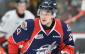Logan Brown of the Windsor Spitfires. (Photo courtesy of Terry Wilson via OHL Images.)