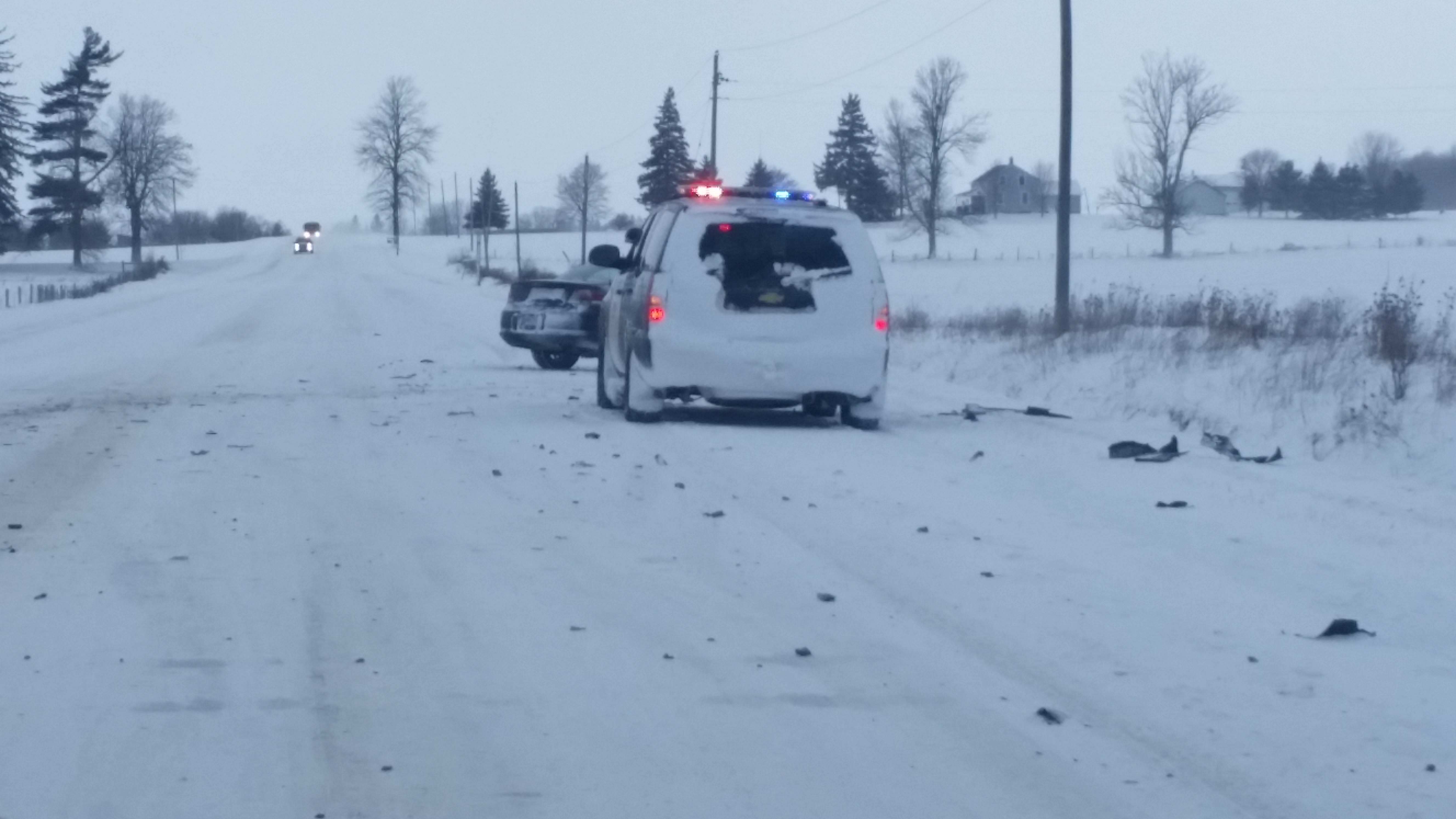 Winter Driving Conditions Across Region
