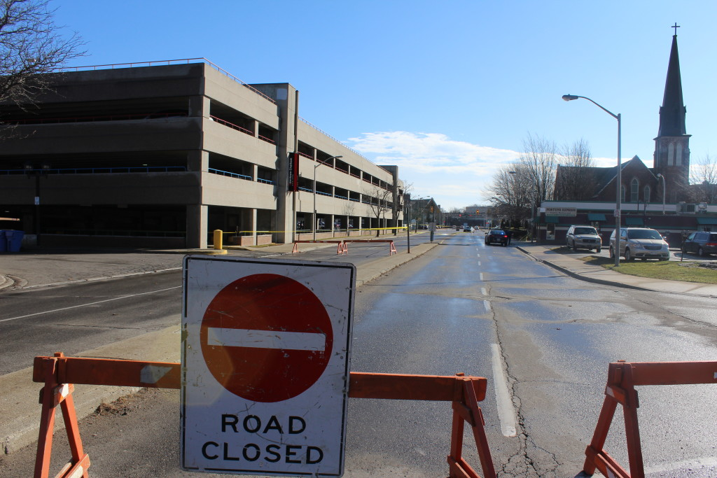 Wellington Street In Chatham Closed 7