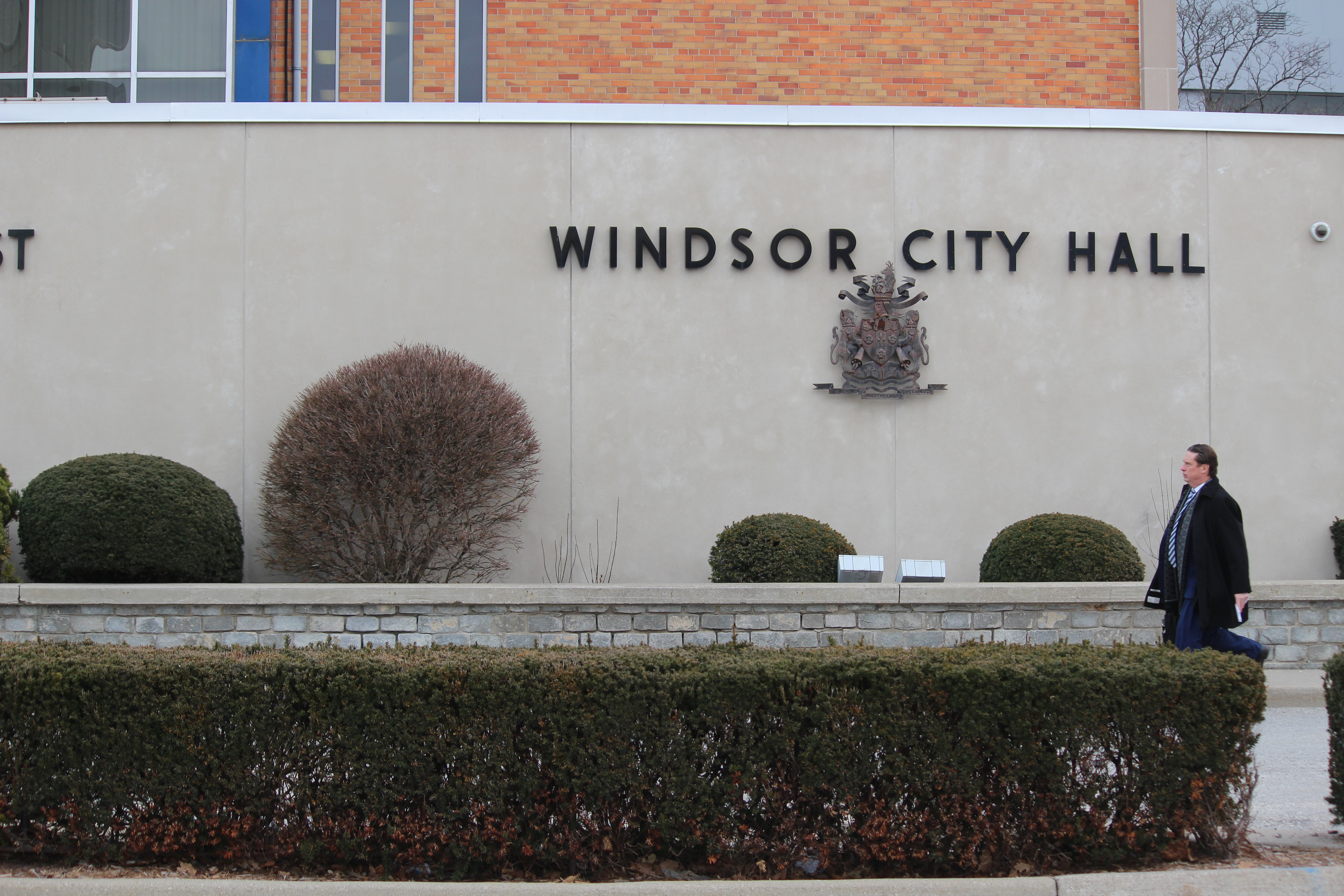Windsor City Hall, February 8th 2016, Photo by Jess Craymer
