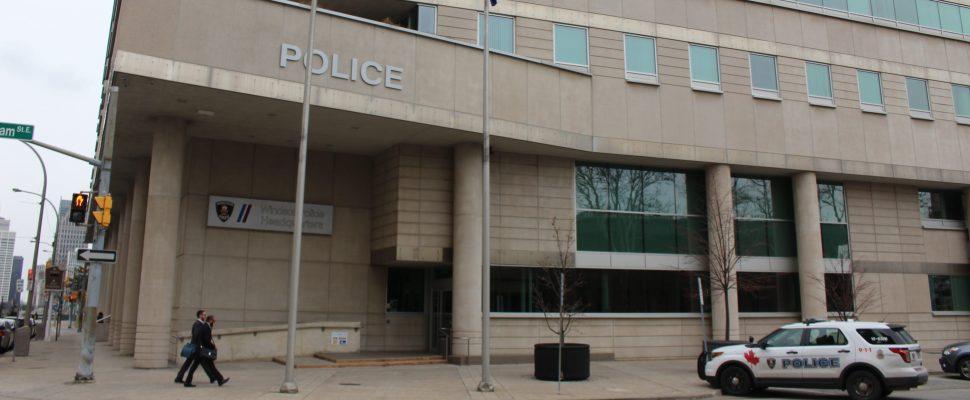 Windsor Police Headquarters, February 8th 2016, (Photo by Jess Craymer)